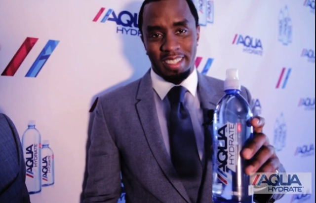 diddy and water